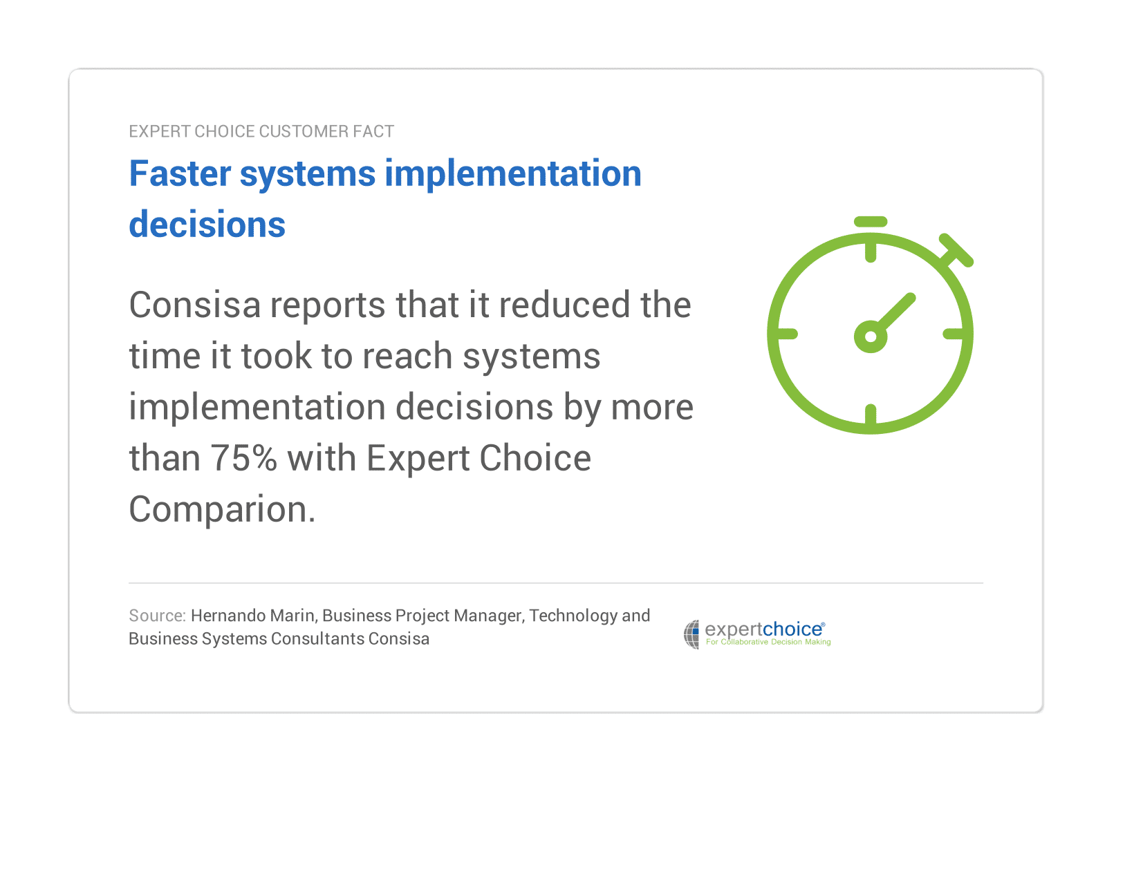 faster systems implementation